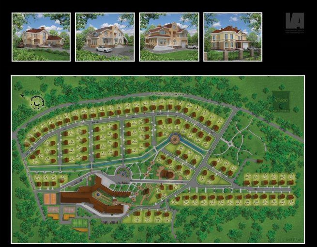 Villagio Site Plan VA Renderings – Site Plan Renderings